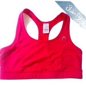 3/$25💦XS Pink Crop tank work out TOP stretch